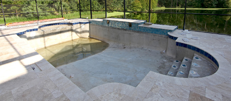 Pool Restoration in Lake Norman, North Carolina