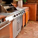 Backyard Outdoor Kitchen in Mooresville, North Carolina